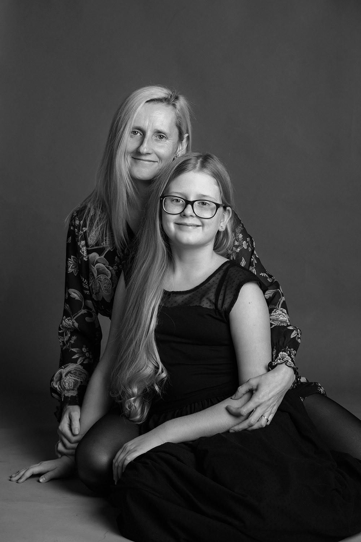 portret mamy i córki